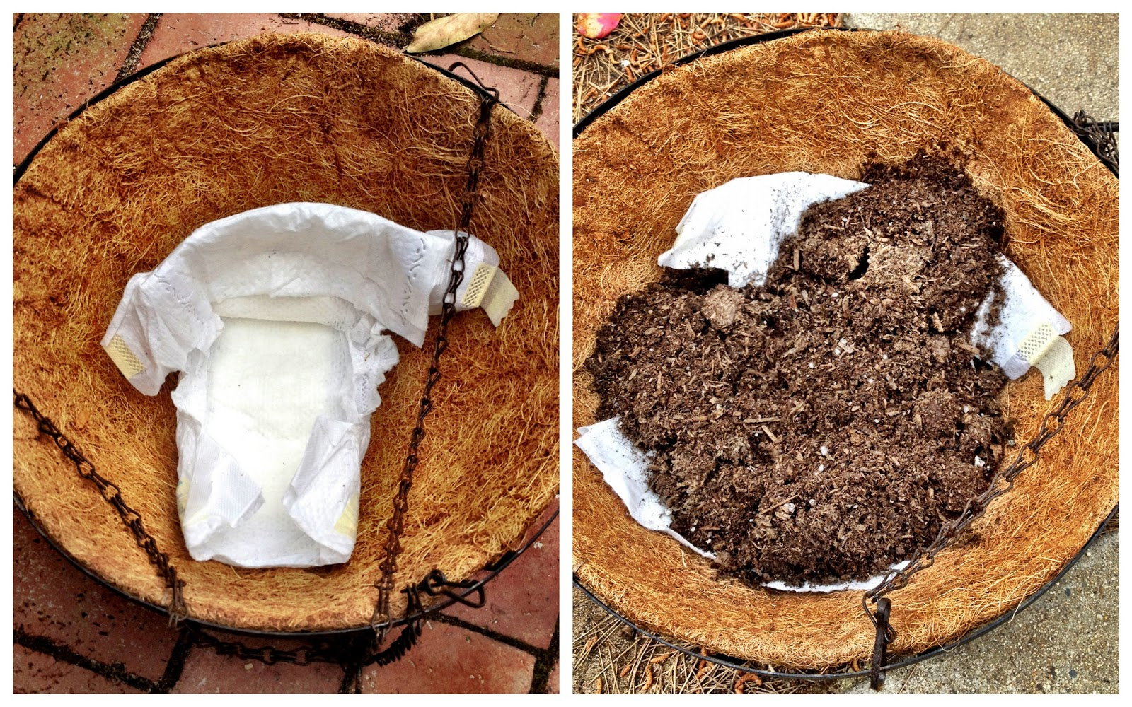 Using Disposable Diapers In Containers Or For Better Plant Growth Is Believe It Not Very Beneficial And Can Keep Your Potting Soil From Drying Out