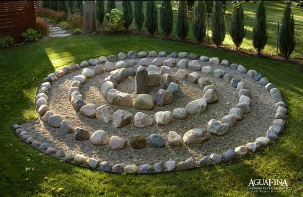 15 eye catching diy garden ideas of rocks and pots youll like - Rock Garden Ideas