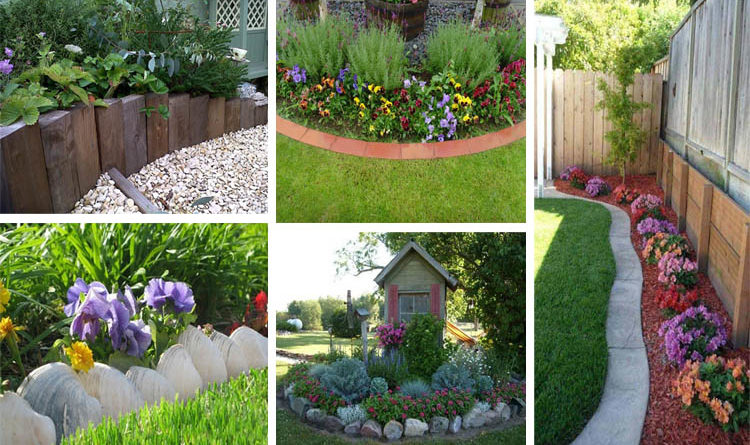 Best 20 Herb Garden Design 2017: 18 Amazing Garden Edging Ideas That Are Budget Friendly
