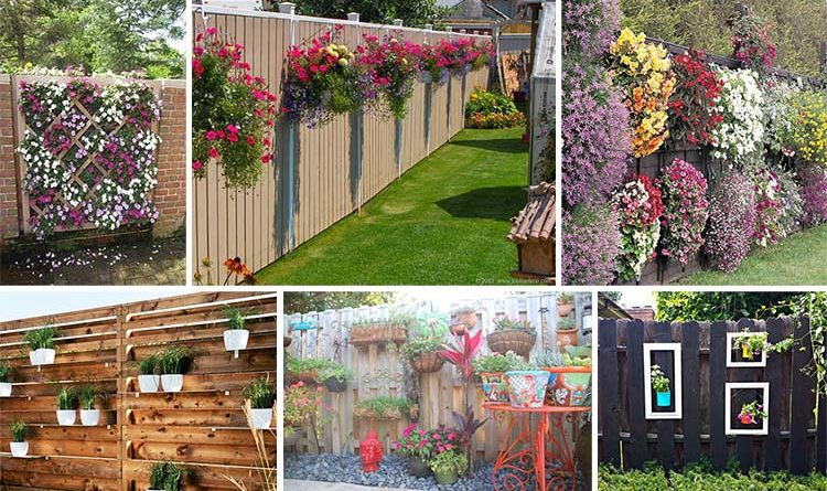 15 Super Unique Fence Planters That Ll Have You Loving