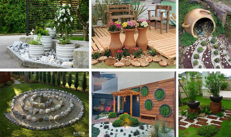 Garden Ideas With Rocks 15 eye-catching diy garden ideas of rocks and pots you'll like