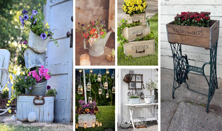 15 beautiful vintage garden ideas to give your outdoor space vintage flair