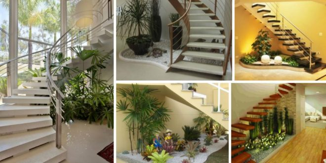 15 incredible small under the stairs garden you should not for Garden design under the stairs