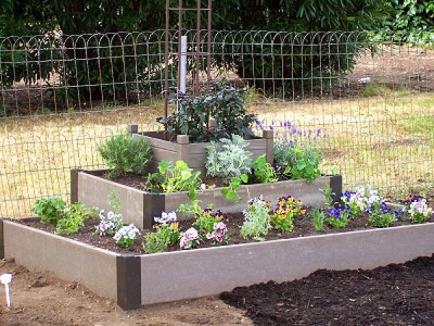 16 Modern And Cool Raised Garden Bed Ideas