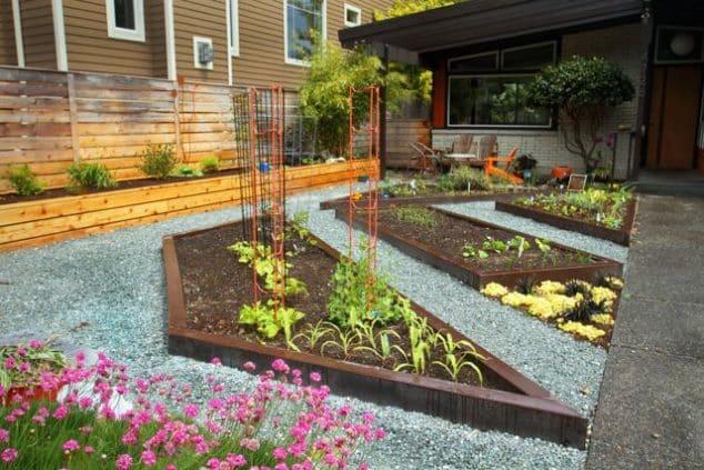 16 Modern and Cool Raised Garden Bed Ideas on Backyard Garden Bed Ideas id=16272