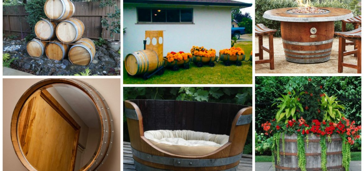 Top And Creative Ideas About Reusing The Old Wine Barrels