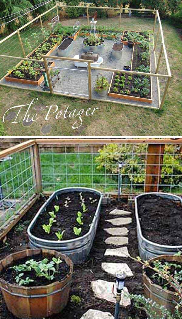 DIY Raised Bed Vegetable Garden Ideas