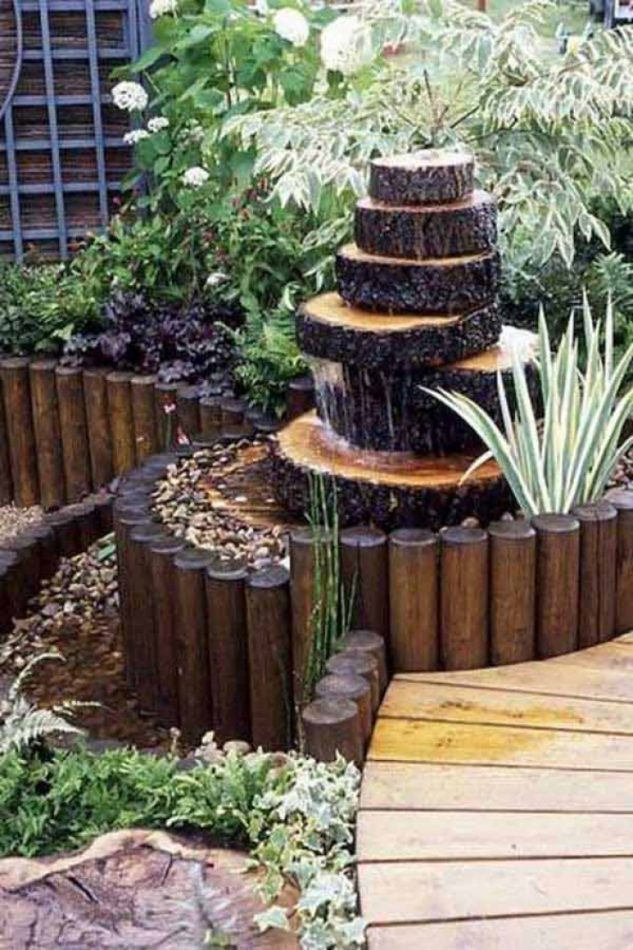 13 attractive things to do with reusing the old tree stumps for Tall tree stump ideas