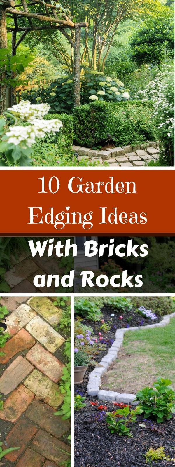 10 Garden Edging Ideas
