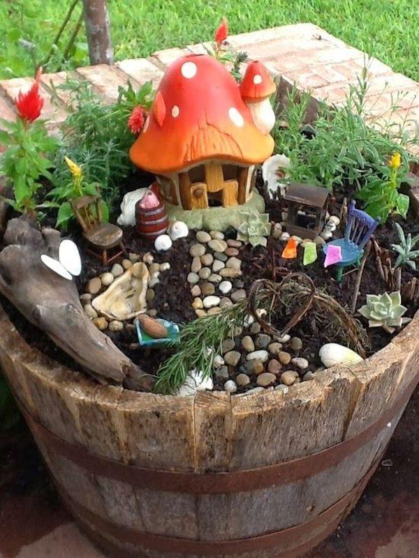 mini fairy garden - Fairy Garden Ideas For Small Spaces