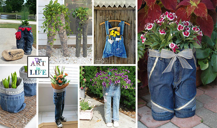 14-old-jeans-flower-planter-ideas