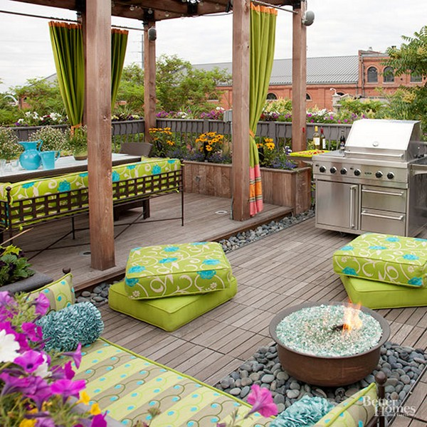 26 Inspiring Ideas For Decks: 16 Amazing And Inspiring Ways To Improve Your Porch And Patio