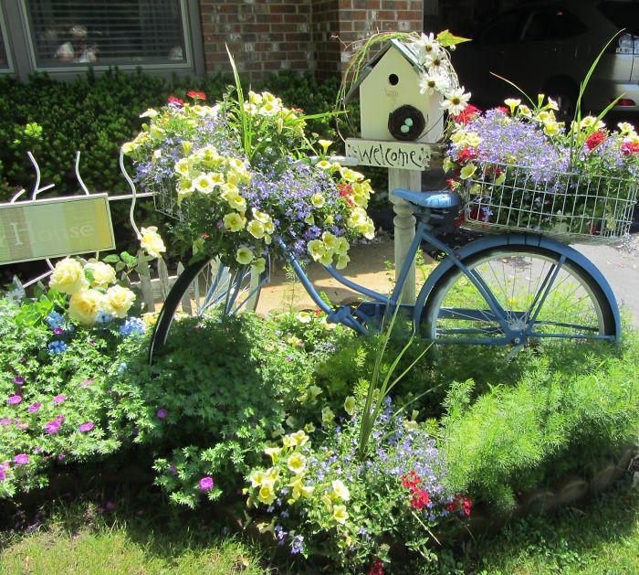 7.Bicycle Garden