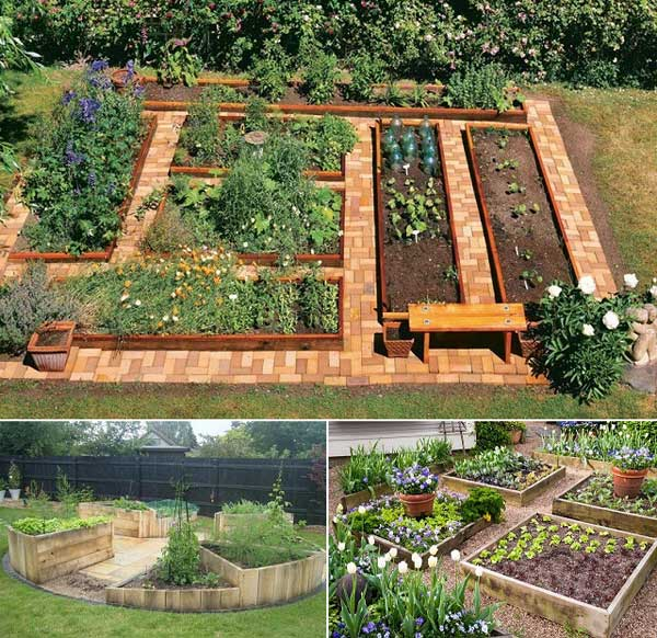 Clever Ways To Make Raised Garden Beds
