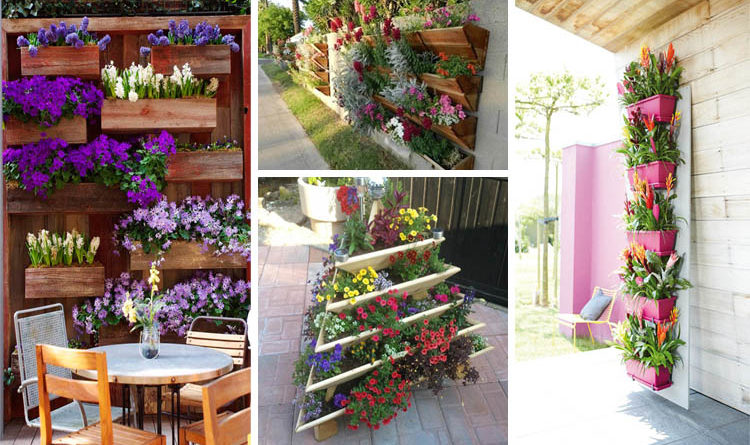 Beautiful Vertical Garden Ideas: 15 Inspiring And Creative Flowers Vertical Gardening Ideas