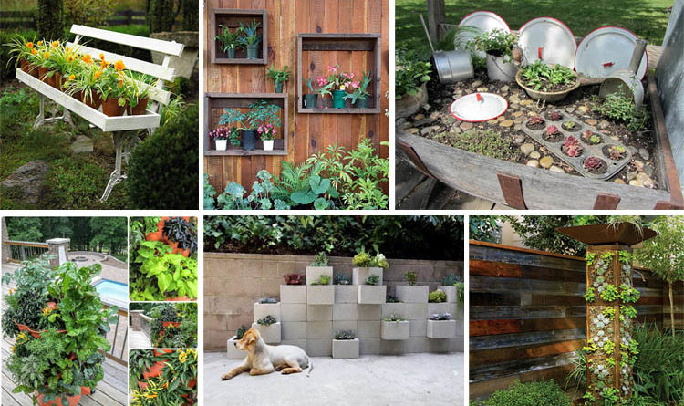 15 crafty small garden ideas and solutions for saving space