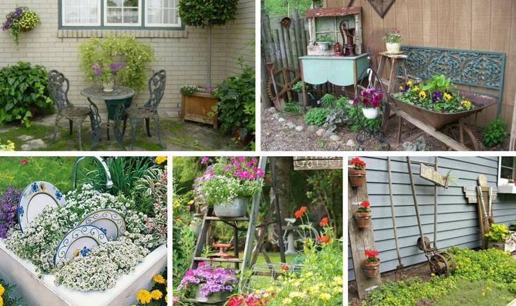 15 Vintage Garden Decorations