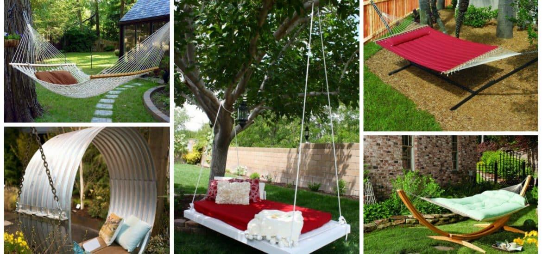 17 backyard hammock ideas adding cozy accent to outdoor place  rh   gardeningsoul
