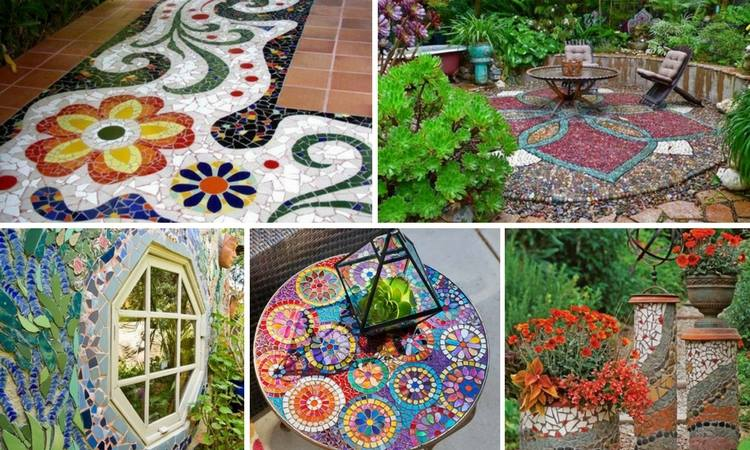 17 Excellent DIY Mosaic Ideas To Make For Your Garden