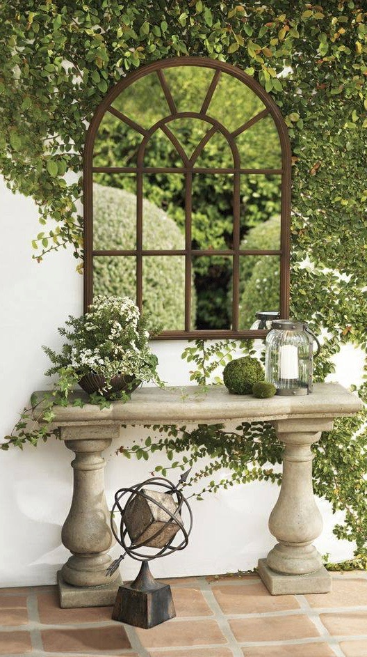 The Most Awesome Garden Mirror Ideas That Took Over The