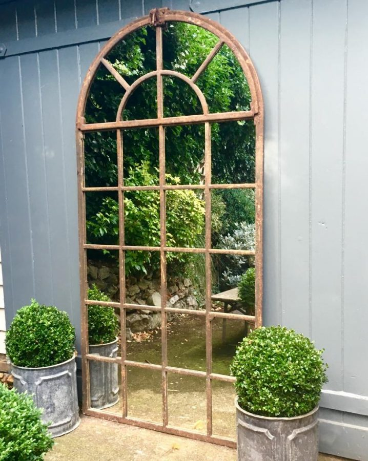 Garden Mirrors Can Simply Have A Frame That Matches With The Color Of The  Surrounding. Or They Can Even Feature Some More Eye Catching Design, ...