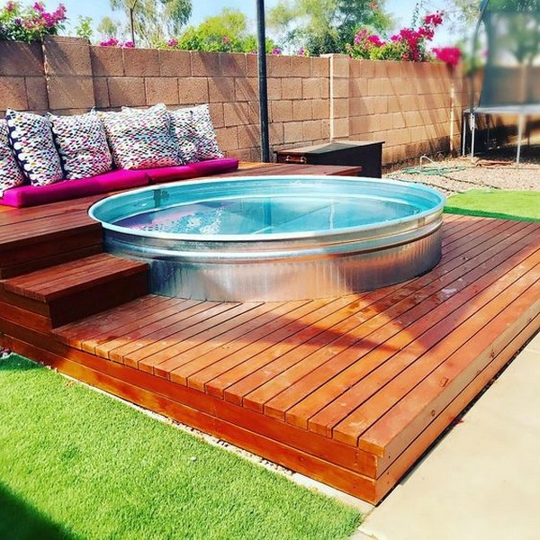 15 Cool DIY Galvanized Tubs Ideas For Your Backyard