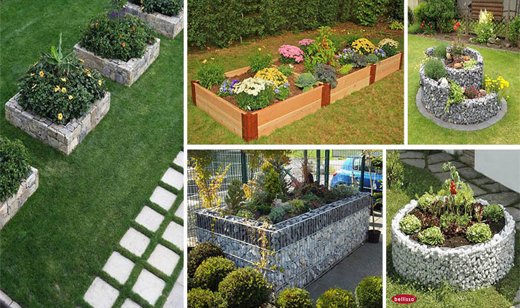 16 amazing and cool raised garden bed ideas for your backyard for Cool backyard decorations