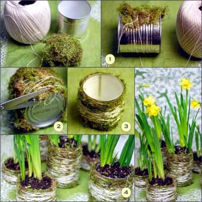 31 Fascinating Homemade Flower Pots Ideas