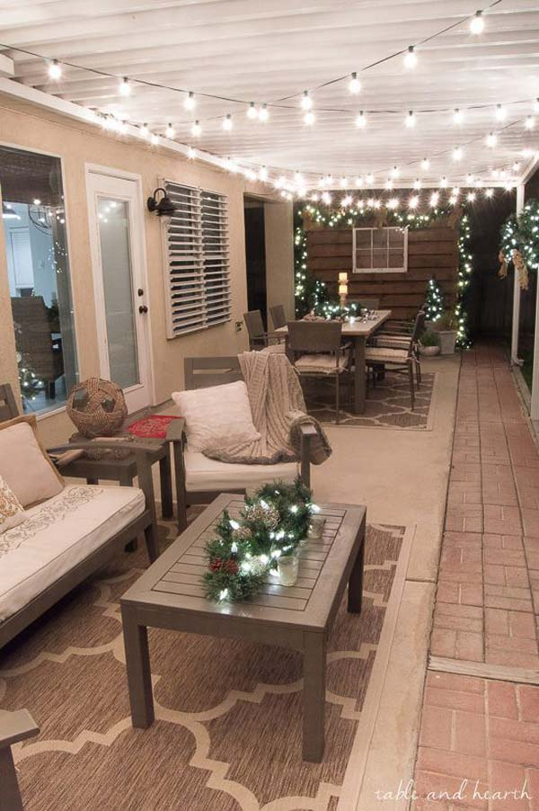 Outdoor Bench Front Porch Decorating Ideas