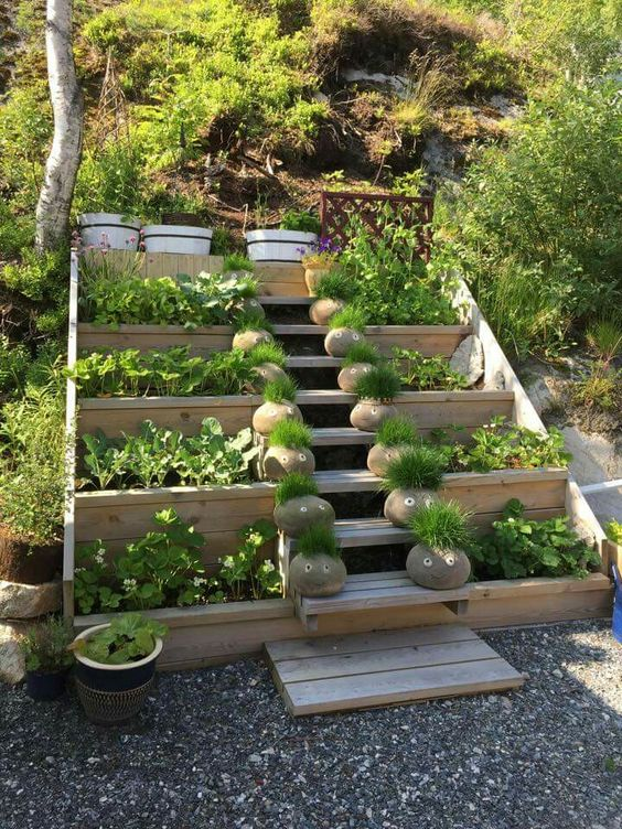 20 Awesome Garden Stairs Ideas That You Must See on Backyard Stairs Ideas id=62155