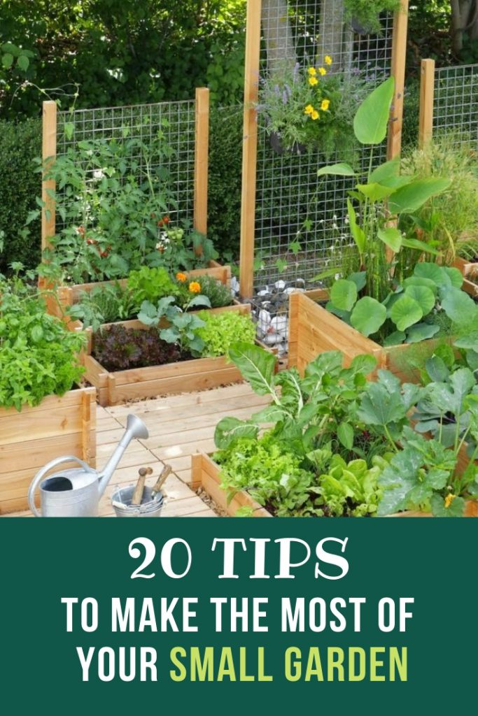 20 Tips To Make The Most Of Your Small Garden