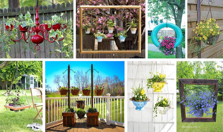 20 Awesome Diy Ways To Make Your Hanging Gardens Fabulous