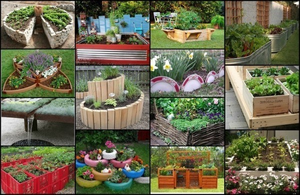 20 Unique Raised Beds