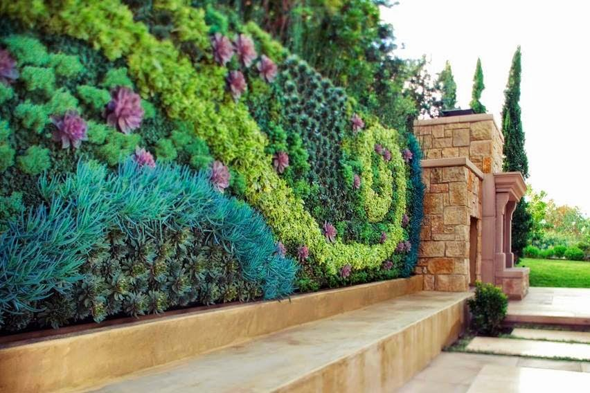 vertical wall garden ideas - Wall Garden