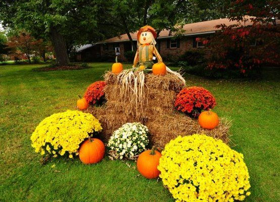 fall harvest decorations outdoors amazing fall front yard decorations that will fascinate you  amazing fall front yard decorations