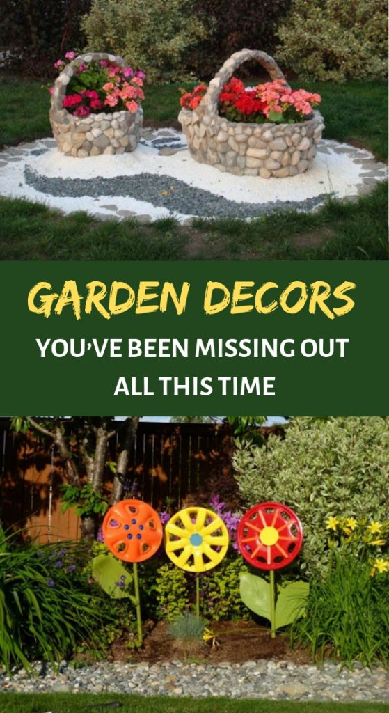 Garden Decors You've Been Missing Out all This Time