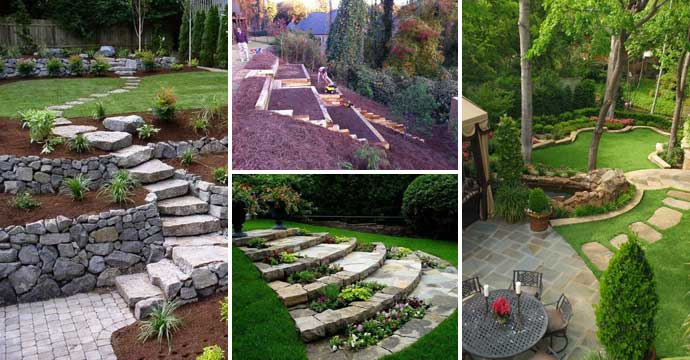 21 Amazing Ideas to Plan a Slope Yard That You Should Not Miss