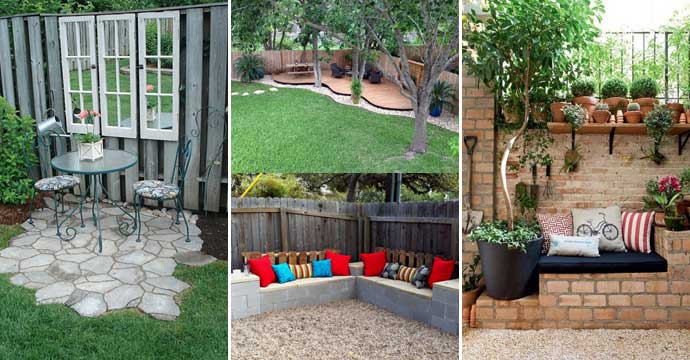 23 Easy-to-Make Ideas Building a Small Backyard Seating Area on Simple Small Backyard Ideas id=78273